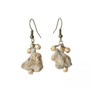 Baudacity | Fossil Dangle Earrings