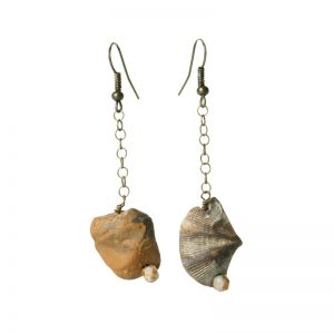 Baudacity | Fossil Drop Earrings