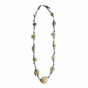 Baudacity Fossil Knotty Necklace