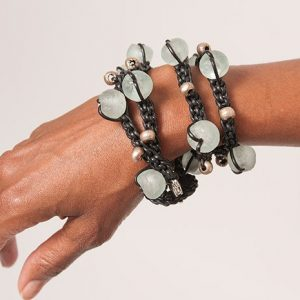Baudacity's Leather Pathway Necklace/Bracelet