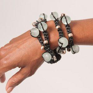 Baudacity's Leather Pathway Necklace/Bracelet