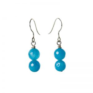 Baudacity | Blue Sky Double Dangle Earrings