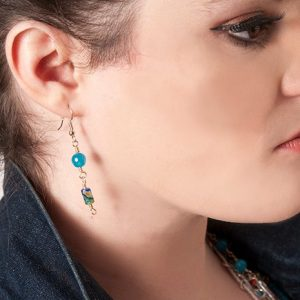 Baudacity Kaleidoscope Dangle Earrings