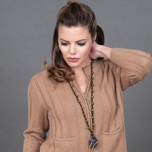 Baudacity.com | Leather Sling Necklace