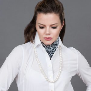 Baudacity.com | Shell Pearl Strand Necklace