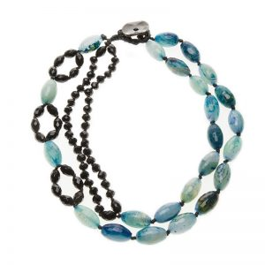 Baudacity | Blue Ocean Necklace