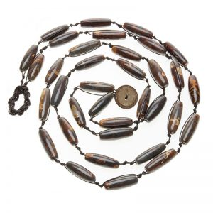 Baudacity | Chocolate Agate Knotty Necklace