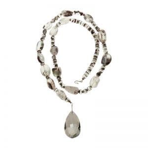Baudacity | Precious Tears Clarity Teardrop Necklace