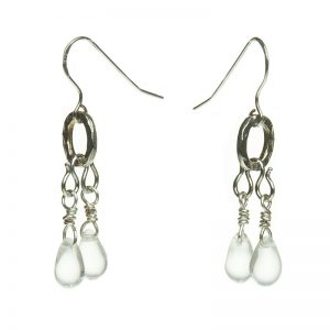 Baudacity | Precious Tears Double Tear Earrings