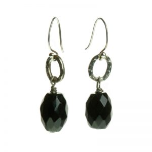 Baudacity | Onyx Earrings