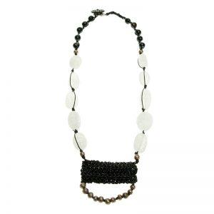 Baudacity | Quartz Knotty Necklace